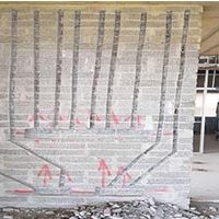 Conduit Chasing Block Wall